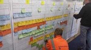 Lean praktijkvoorbeelden: lean planning geluidschermen A4all langs A20 en bij Kethelplein